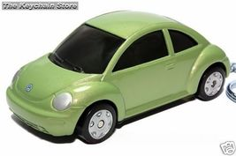 KEY CHAIN 1998~2009 CYBER GREEN VW NEW BEETLE KEYRING - $24.98