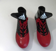 Adidas Men's Football Cleats, Quickframe, Freak X Carbon High, Black/Red & White - $35.00+