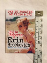 Julia Roberts Erin Brockovich Pin Pinback Button Original 2000 - $6.62