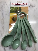 PISTACHIO KITCHENAID 5 PC MEASURING SPOONS - $9.99