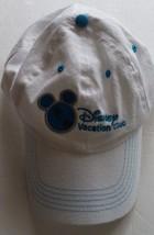 Disney Vacation Club DVC White One Size Member Hat Baseball Cap Disney Parks - $9.04