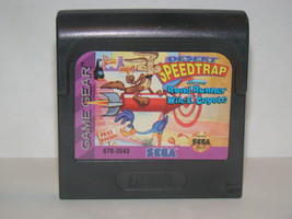 SEGA GAME GEAR - DESERT SPEED TRAP - Road Runner Wile E. Coyote (Game Only) - $12.00