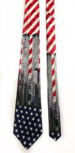 Fratello World Trade Center Twin Towns Novelty Tie Necktie image 2