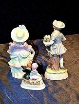 Figurines Boy Girl Couple AA18-1286 Vintage3 piece image 3