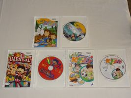 Wii Lot - Carnival Games 30 Great Games Family Party Crayola Colorful Journey image 4