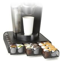 Mind Reader 'Anchor' Coffee Pod Triple Drawer 36 Capacity, Black Metal Mesh - $24.01
