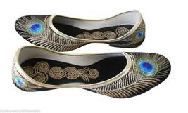 Women Shoes Indian Handmade Jutti Leather Ballerinas Traditional Mojari US 5-10  - £20.21 GBP
