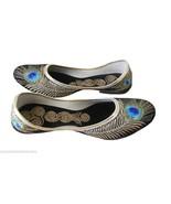 Women Shoes Indian Handmade Jutti Leather Ballerinas Traditional Mojari ... - $24.99