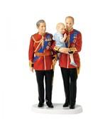 ROYAL DOULTON FIGURINE FUTURE KINGS HN5884 CHARLES WILLIAM GEORGE Ltd Ed New - $231.41