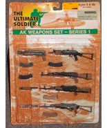 2000 21st Century Toys Ultimate Soldier AK Weapons Set Series 1 New In P... - $34.99