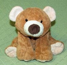 "Ty PLUFFIES SLUMBERS Teddy Bear 2002 Tan Brown 12"" BEADED Eyes Plush Stu... - $23.38"