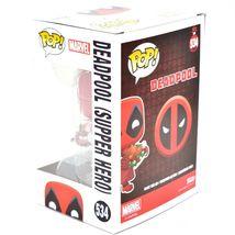 Funko Pop! Marvel Christmas Holiday Deadpool Supper Hero #534 Vinyl Bobble-Head image 3