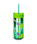 """Cool Gear 16oz Easy Fill Pineapple Can Double Wall Insulated """"Pineapple ... - $7.95"""