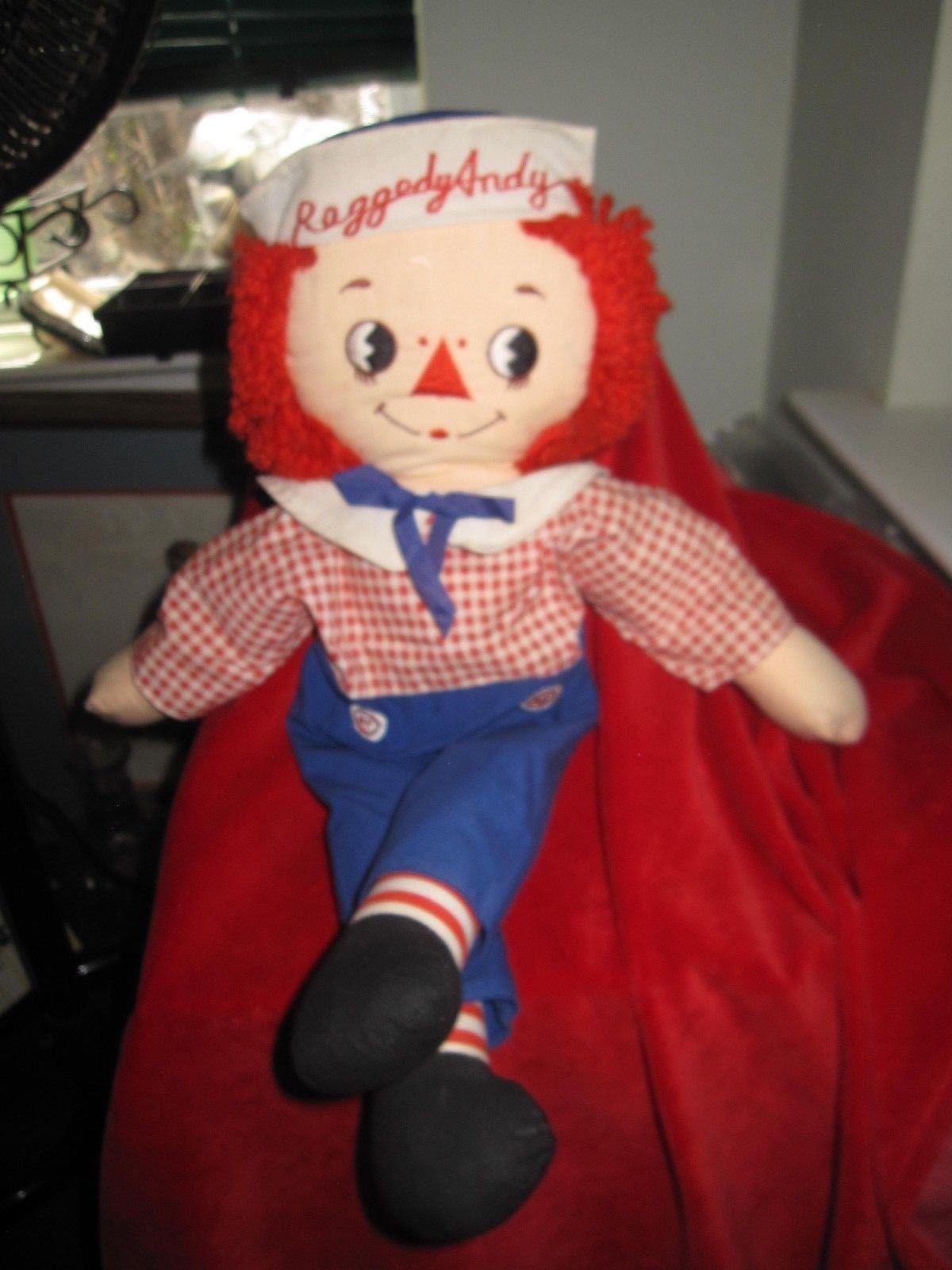 "Raggedy Andy Kinckerbocker 17"" Doll"