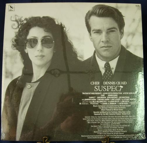 SUSPECT Soundtrack - Michael Kamen - Varese Sarabande 704.390 - SEALED