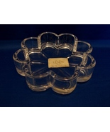 Lenox Wedding Promises Clear Lead Crystal 3 Piece Stackable Box Trinket  - $14.99