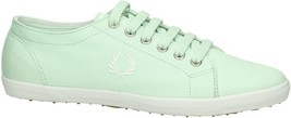 Fred Perry Kingston Twill Plimsolls Trainers Pumps Casual Shoes B6259-D80 - $51.52