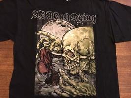ACDC T-shirt Rock And Roll HELLS BELLS AC/DC Tshirt Black Emblem Size S - $11.39