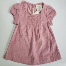 First Impression Baby Girl 0-3 Months Pretty Pink Corduroy Dress - $12.99