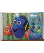 DISNEY PIXAR FINDING DORY 8 PUZZLE PACK 24 PIECES NEMO CARDINAL INDUSTRIES - $9.79