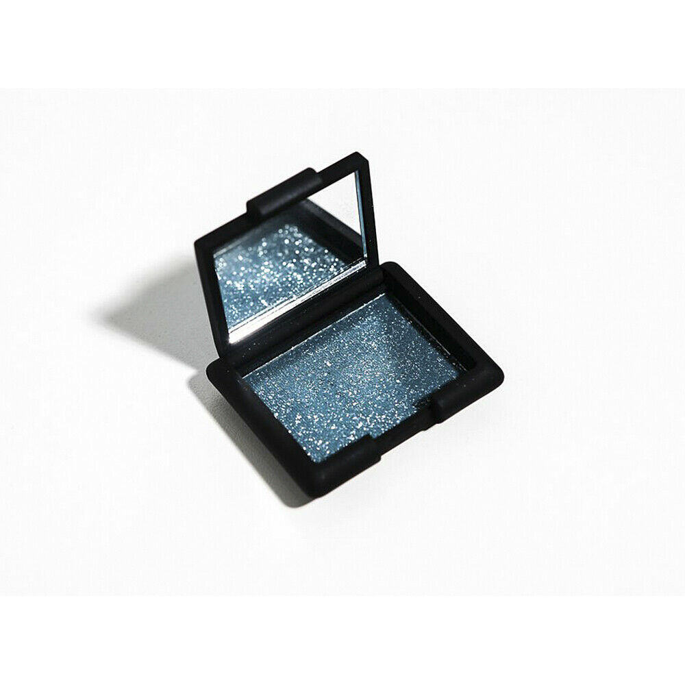 Primary image for NARS Single Eyeshadow Compact Tropic with Silver Glitter NWT
