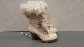 Women's Size 6.5 Faux Fur Winter Boots Soda  - $39.99