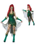 Poison Ivy Pamela Lillian Isley Cosplay Costume Halloween Partywear - $33.56