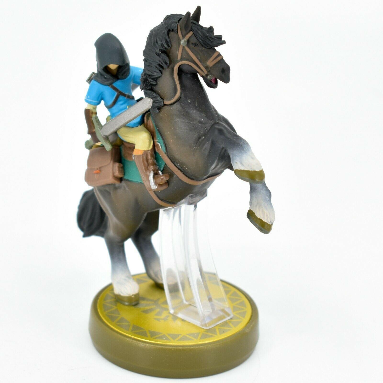 Nintendo The Legend of Zelda Breath of the Wild Link Hooded Rider Loose Amiibo