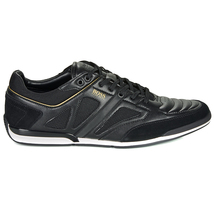 Hugo Boss Men's Premium Sport Leather Sneakers Shoes Saturn Lowp Strf image 5