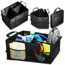 Trunk Cargo Organizer Folding Caddy Storage Collapse Bag Bin for Car Tru... - $38.40
