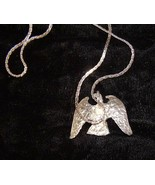 Eagle Silver Metal Necklace Jewelry - $18.99