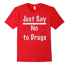 Just Say No To Drugs Retro 80's T-Shirt Men - $17.95+