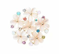 Women Gifts Fashion Simple Rhinestone Brooch Pin Designer Jewelry