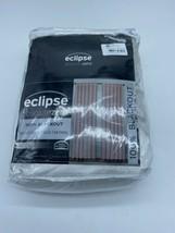 "Eclipse Harper Velvet Absolute Zero Blackout Window Panel 50"" X 63""100% Blockout - $69.29"
