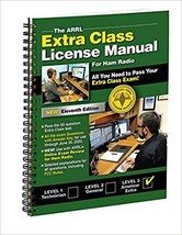 The ARRL Extra Class License Manual Spiral 11th Edition - $30.71