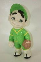 Atlantic Mold Ceramic Little League Baseball Pitcher Mighty Moe Vintage ... - $36.58