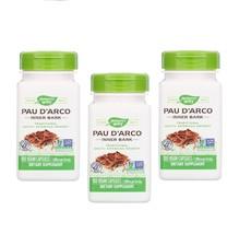 3 PACK Pau D'Arco Inner Bark 1090 mg Natural Antibiotic 100 Vegan Capsules - $29.99