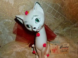 Irving Rice Sachet Kitten With Floral Sachet In... - $30.00