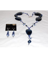Loving Devotion - A Delft Necklace and Earring Set  - $510.00