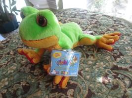 Ganz Webkinz Sparkle Tree Frog Plush Stuffed Animal UNUSED CODE HS109 LilWebkinz - $12.00