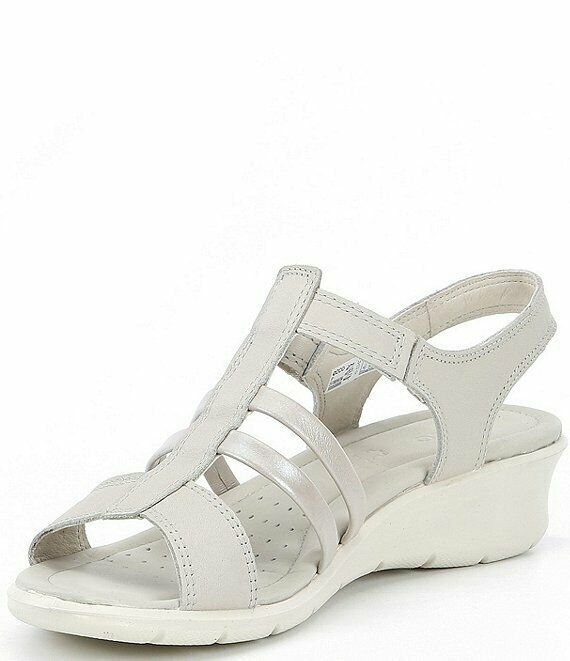 Primary image for Ecco Women's Felicia Sandal Gravel/Moon Rock 10-10.5 US 41 EUR