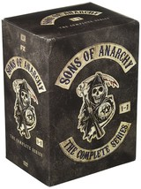 Sons of Anarchy Complete Series Seasons 1 2 3 4 5 6 & 7 New DVD Box Set ... - $59.00