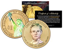 HOLOGRAM 2-sided 2010 ABRAHAM LINCOLN Presidential $1 Dollar U.S. Presid... - $8.86
