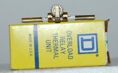 Square D B22 0 Overload Relay Thermal Unit USA UL Listed CSA Certified