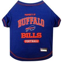 PET SHIRT for Dogs & Cats - NFL BUFFALO BILLS Dog T-Shirt, X-Small. - Cu... - $14.84