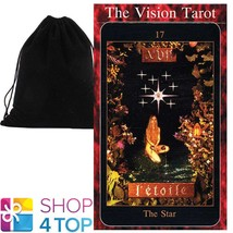 THE VISION TAROT DECK CARDS TIM THOMSON ESOTERIC US GAMES SYSTEMS VELVET... - $32.56