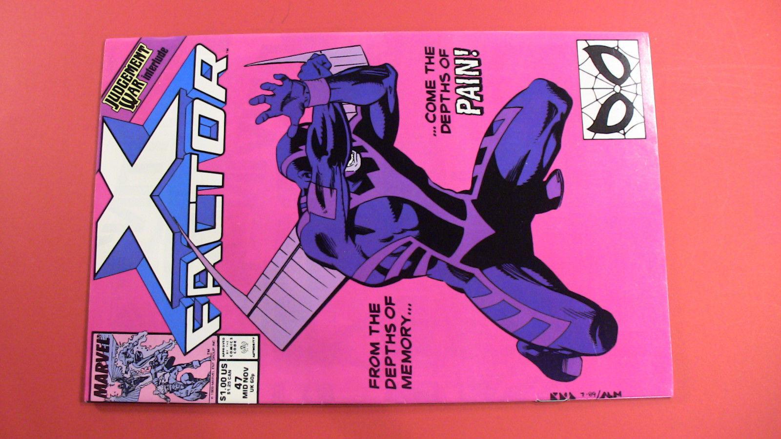 X-Factor 4 Comic Lot #43, 44, 47, 51