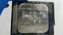 Vintage 3.5lb Lot Kodak Magic Lantern Slide Glass Plate India Village Asia image 2