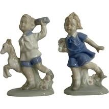 VINTAGE LEGO JAPAN PORCELAIN Boy and Girl - $29.99
