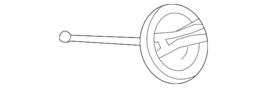 Genuine Mercedes-Benz Filler Cap 117-470-00-00 - $20.59